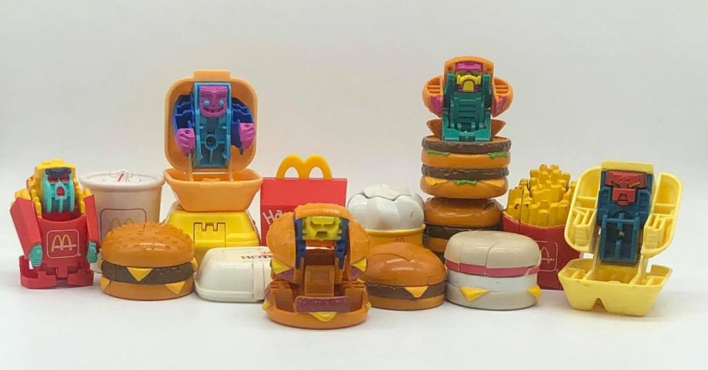 """Happy Meal """"Changeables"""""""