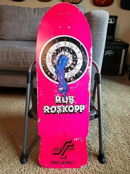 Santa Cruz Rob Roskopp Skateboard