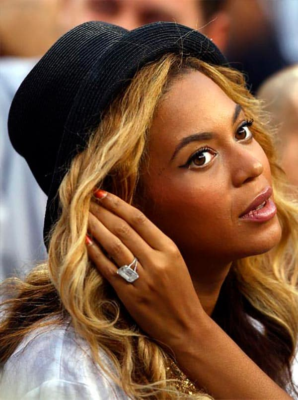 Beyoncé's Engagement Ring from Jay-Z