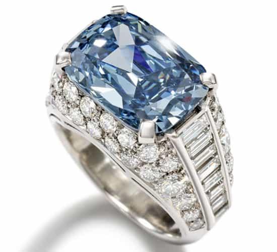 Bvlgari Blue Diamond Engagement Ring