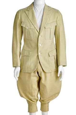 Rudolph Valentino's Bespoke Wool Suit
