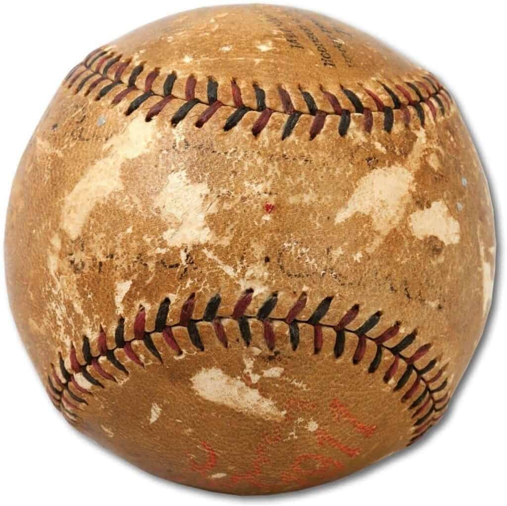 The Only Frank Chance Single Signed Baseball On Earth