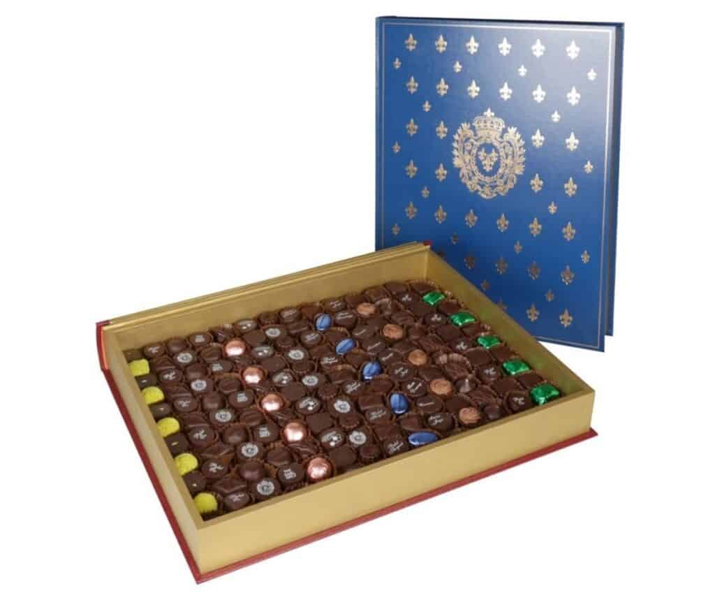 The Royal Book Chocolate Selection